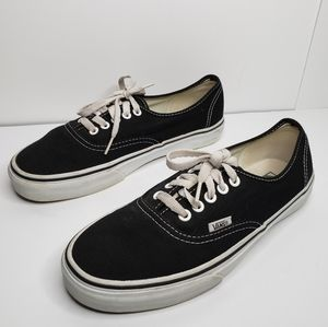 Vans Off The Wall Classic Skaters Black shoes Sz.8